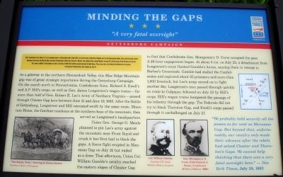 Minding the Gaps Marker image. Click for full size.