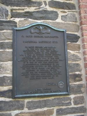 St. Paul's Church, Eastchester Marker image. Click for full size.