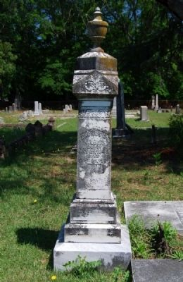 Cadmus G. Waller Tombstone image. Click for full size.