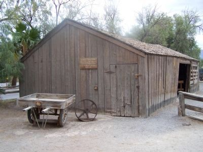 Furnace Creek Ranch, 20 Mule Team Barn image. Click for full size.