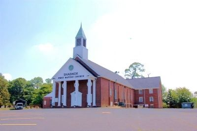 Shadnor First Baptist Church image. Click for full size.