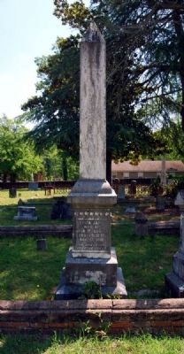 Eliza Jane Boozer Tombstone image. Click for full size.