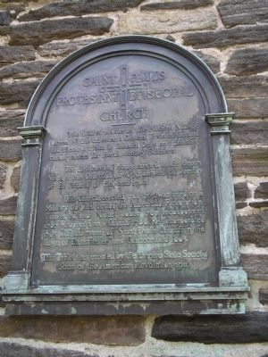 Saint Paul's Protestant Episcopal Church Marker image. Click for full size.