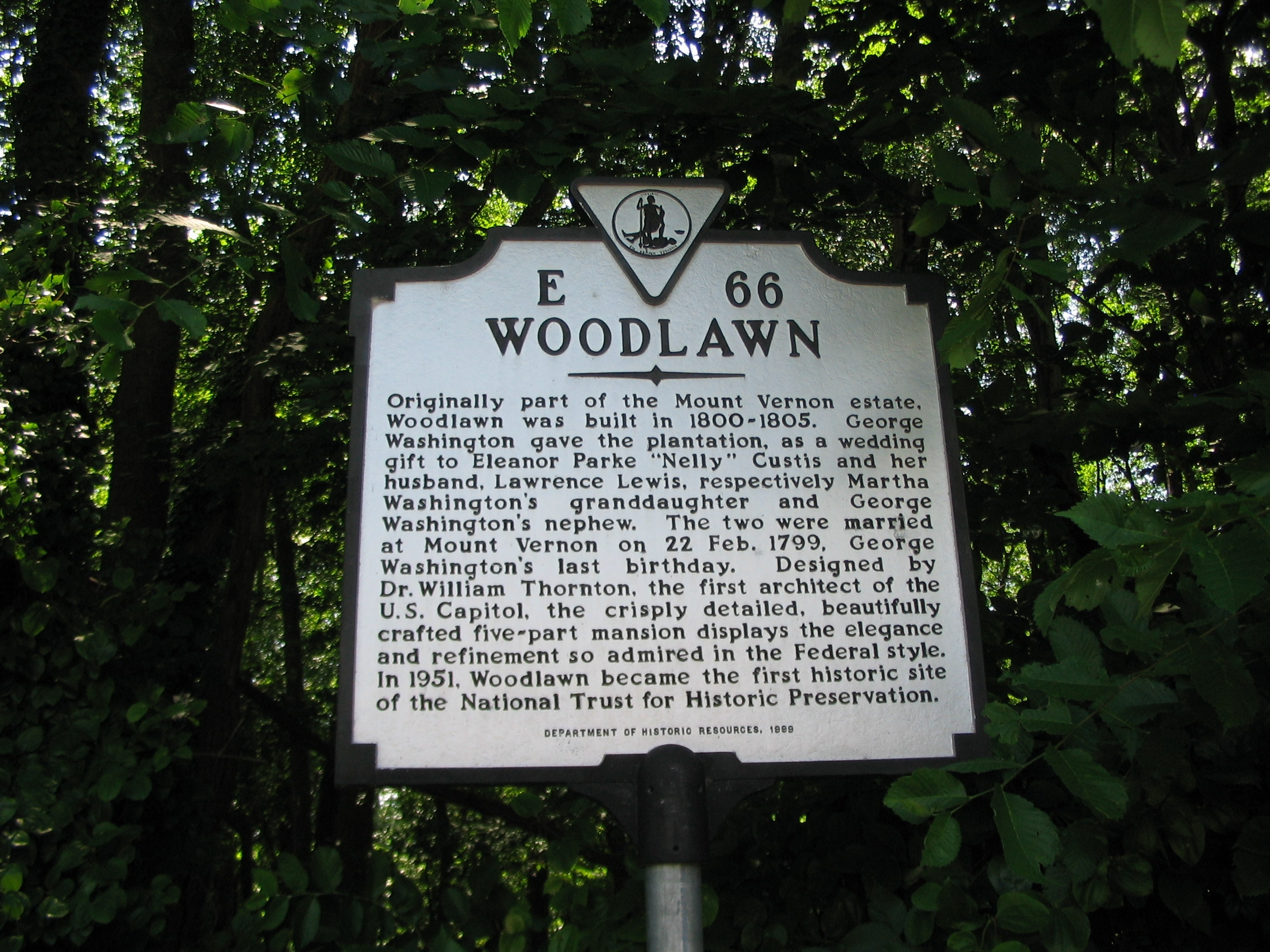 Woodlawn Marker