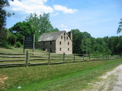 Reconstructed Grist Mill image. Click for full size.