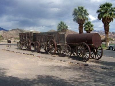 20 Mule Team Wagon Train image. Click for full size.