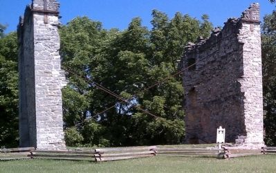 Liberty Hall Academy Ruins image. Click for full size.