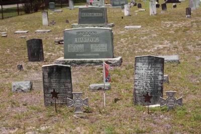 Salem Methodist Church Cemetery Confederates image. Click for full size.