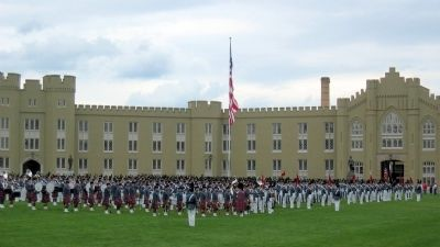Virginia Military Institute New Market Ceremony image. Click for full size.