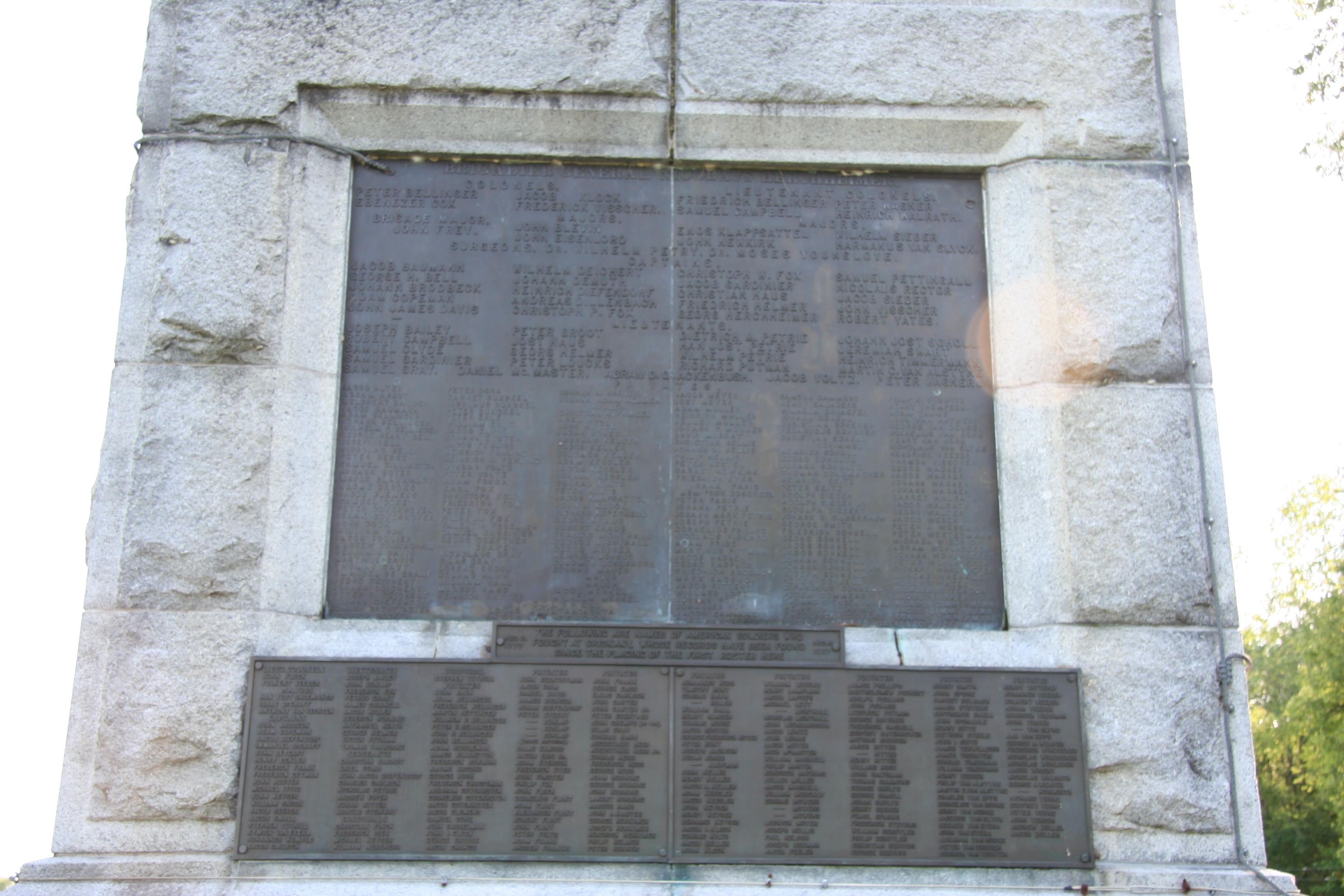 Here the Battle of Oriskany Was Fought Marker