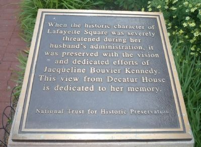Jacqueling Bouvier Kennedy Marker image. Click for full size.