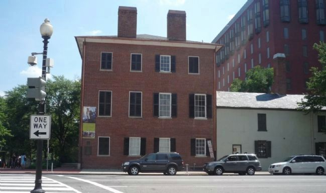 View of the Decatur House from across H. Street image. Click for full size.