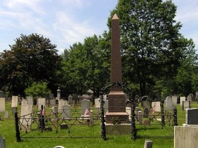 Grave site of Alden Partridge image. Click for full size.