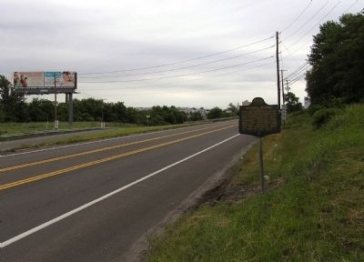 Wide view of the Wilkes-Barre Marker image. Click for full size.