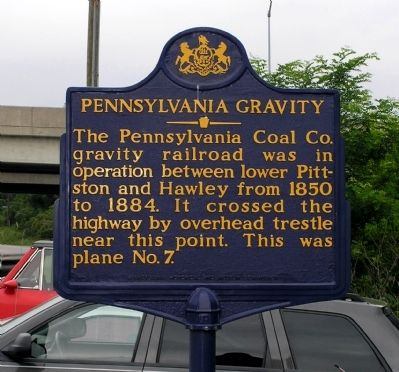 Pennsylvania Gravity Marker image. Click for full size.