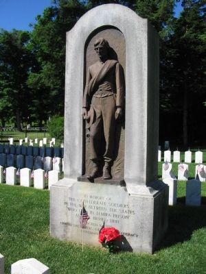 Confederate Soldiers Memorial image. Click for full size.
