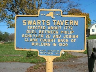Swarts Tavern Marker image. Click for full size.