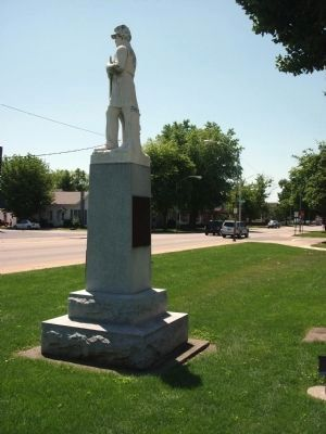 Civil War Memorial - Shelby County Indiana Marker image. Click for full size.