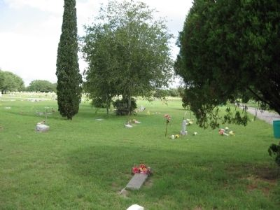 St. Rose Cemetery image. Click for full size.