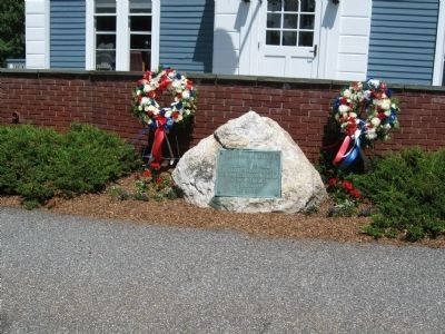 Lewisboro Veterans Monument image. Click for full size.
