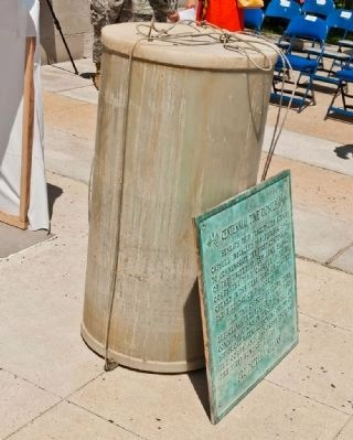 Centennial Time Capsule During Disinterment image. Click for full size.