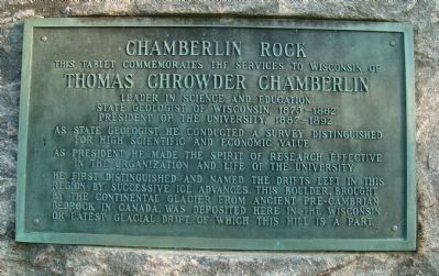 Chamberlin Rock Marker image. Click for full size.