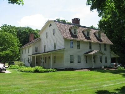 David Lambert House c. 1724, at Lambert Corner image. Click for full size.