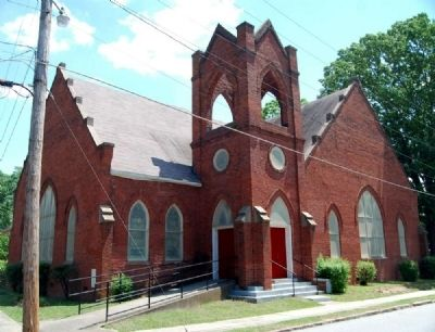 Mount Pisgah A.M.E. Church -<br>West Corner image. Click for full size.