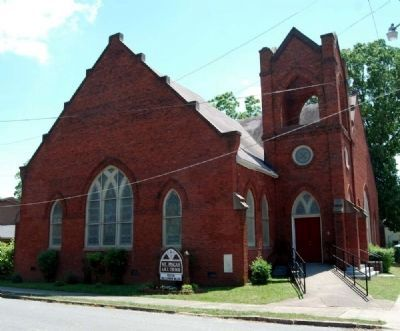Mount Pisgah A.M.E. Church -<br>Northwest Facade image. Click for full size.