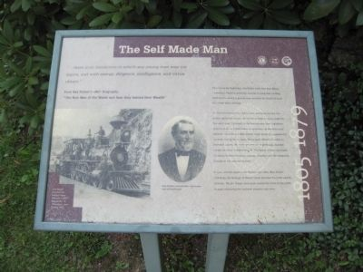 The Self Made Man Marker image. Click for full size.