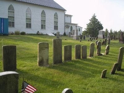 Hanover Presbyterian Church Cemetery image. Click for full size.