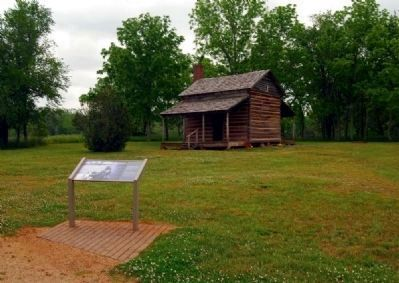 Robert Scruggs House and Marker image. Click for full size.
