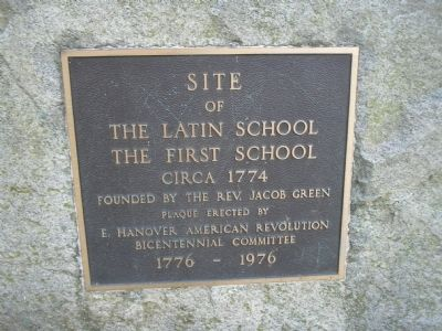 The First School Marker image. Click for full size.