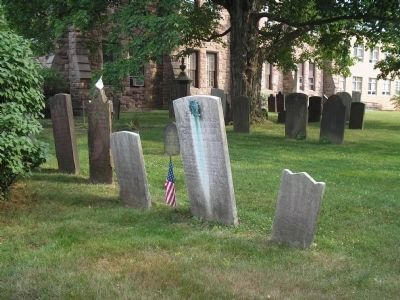Old Burying Ground at First Presbyterian Church image. Click for full size.