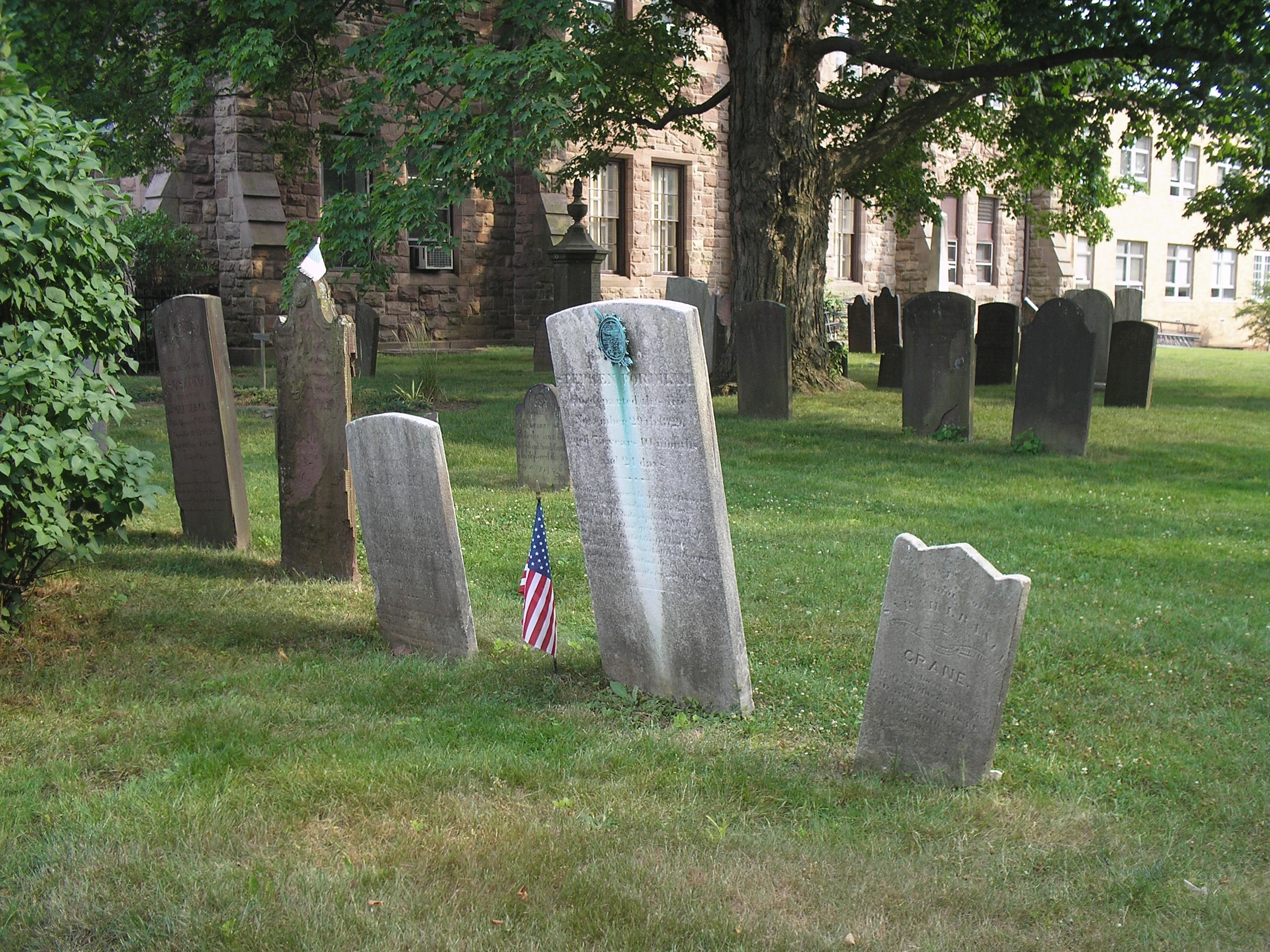 Old Burying Ground at First Presbyterian Church