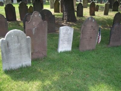 Westfield Revolutionary Cemetery image. Click for full size.