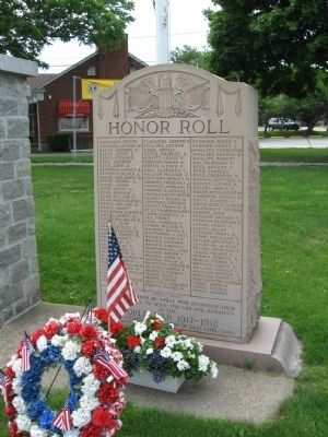 East Lyme Honor Roll image. Click for full size.