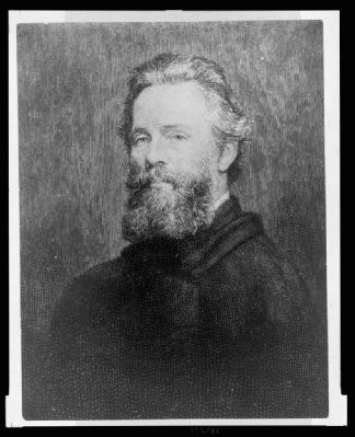 <b>Herman Melville</b> image. Click for full size.