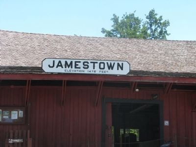 Jamestown Depot image. Click for full size.