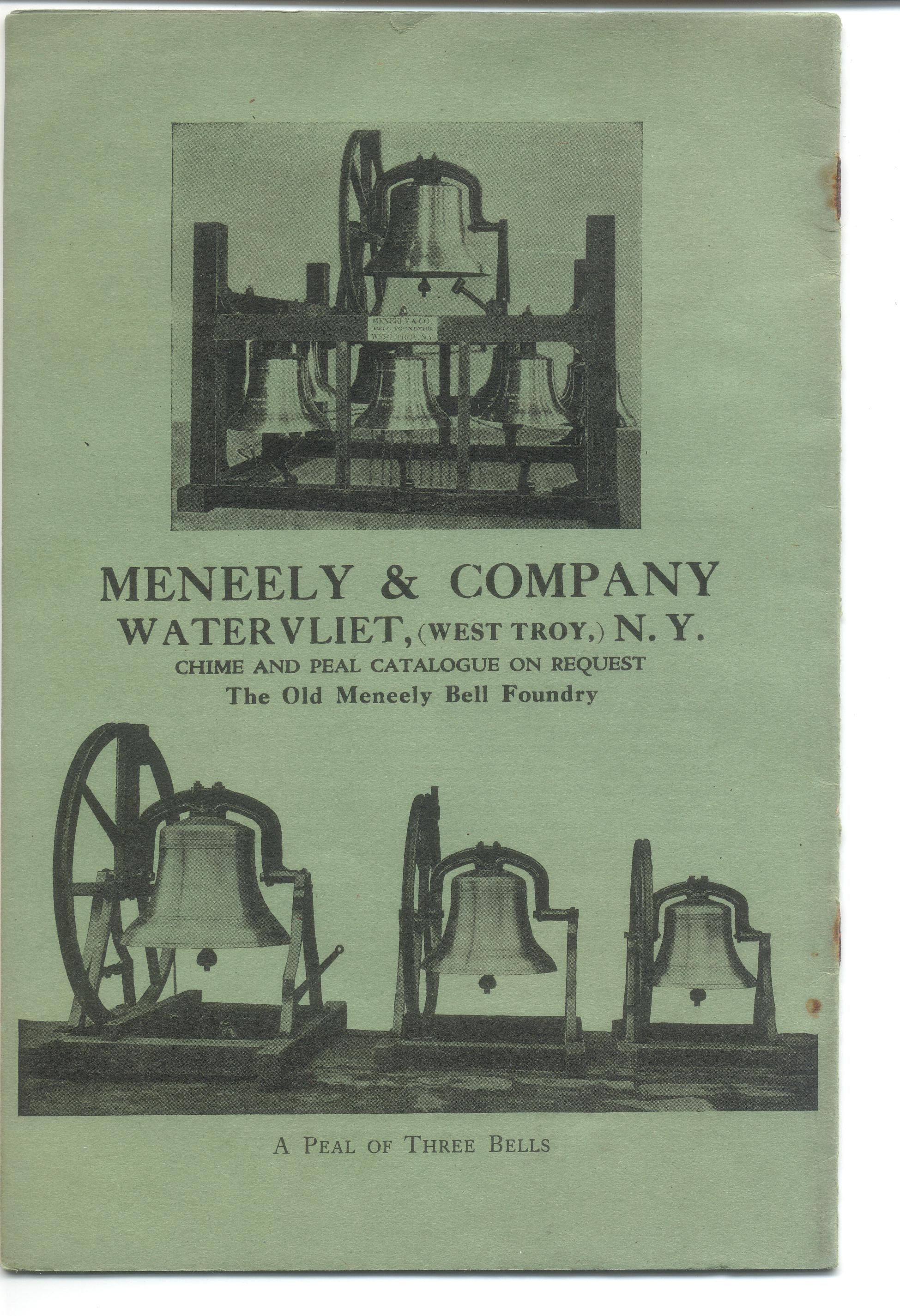 Meneely Foundry Promotional Literature