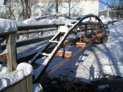 Whipple Bowstring Truss Bridge image. Click for full size.
