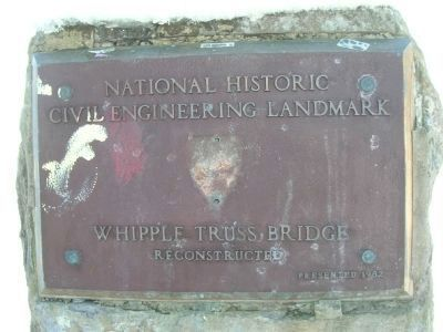National Civil Engineering Landmark image. Click for full size.