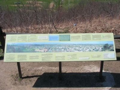 <center>A Panoramic View of American History Marker</center> image. Click for full size.