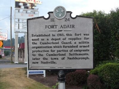 Fort Adair Marker image. Click for full size.