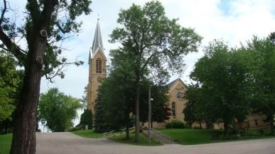 St. Norbert's Church image. Click for full size.