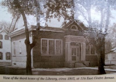 Newtown Library Co. Photo on Marker image. Click for full size.