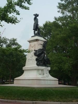 "Other monunents in Lafayette Square: ""Rochambeau"" image. Click for full size."
