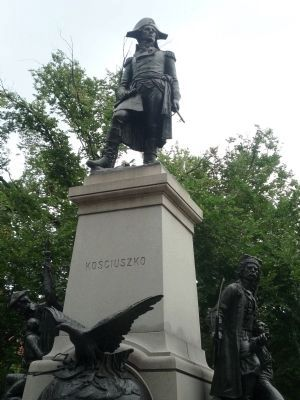 "Other monuments in Lafayette Square: ""Kosciuszko"" image. Click for full size."