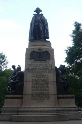 "Other monuments in Lafayette Square: ""Baron von Steuben"" image. Click for full size."