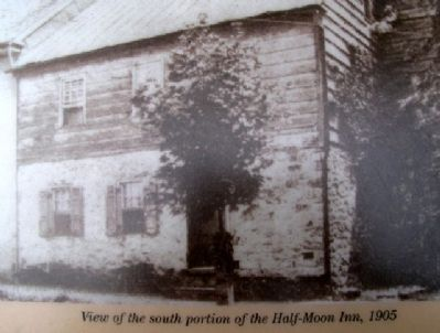 Half-Moon Inn Marker image. Click for full size.